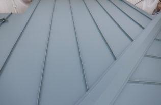 屋根重ね葺き 完了