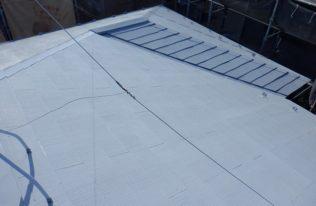 屋根下塗り1回目