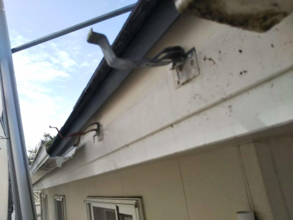 郡山市 外壁塗装 屋根塗装 雨樋交換 樋勾配調整