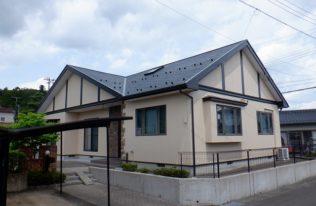【伊達郡】S様邸 屋根外壁他塗装工事
