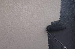 外壁 中塗り(色分け)