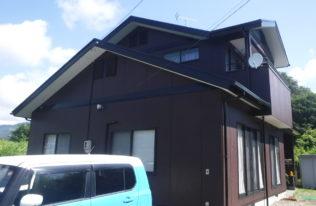 【いわき市】N様邸 屋根外壁他塗装工事