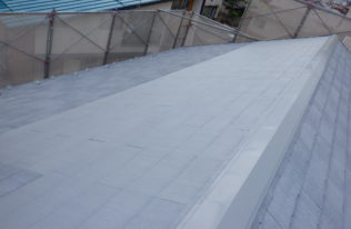屋根下塗り(2回目) 状況