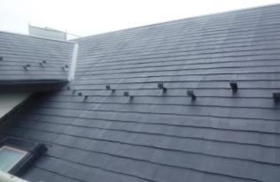 屋根下塗り(1回目) 完了