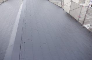 屋根上塗り 完了