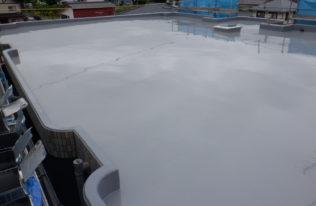 ウレタン塗膜防水 1層目
