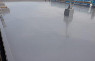 ウレタン塗膜防水 2層目