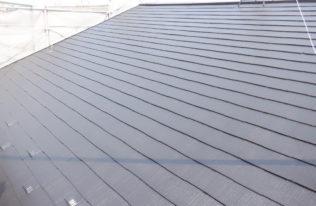 屋根中塗り 完了