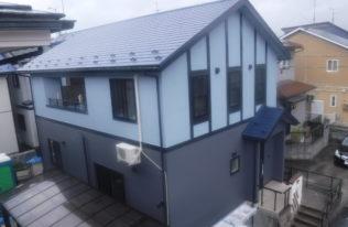 【郡山市】S様邸 屋根重ね葺き外壁他塗装工事