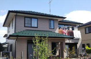 【郡山市】 S様邸 屋根外壁他塗装工事