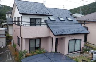 【福島市】I様邸 屋根外壁塗装工事