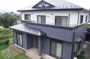 【福島市】 T様邸 屋根外壁塗装工事