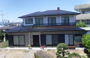 【鏡石町】M様邸 屋根・外壁塗装工事