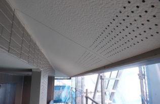 軒天塗装 完了