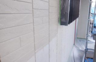 外壁下塗り 状況