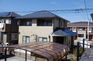 【伊達市】H様邸 屋根外壁他塗装工事