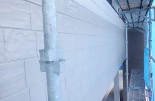 外壁上塗り 完了