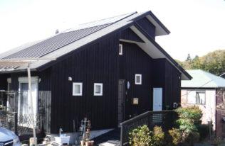 【那須町】H様邸 木外壁塗装工事
