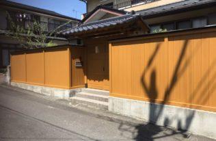 【白河市】K様邸 木塀塗装工事
