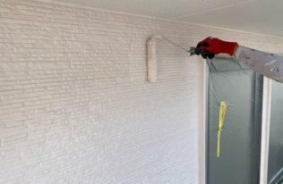 2階外壁 塗装状況