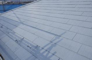 屋根下塗り 完了