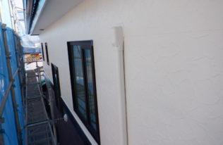 外壁 上塗り 完了 (2F)