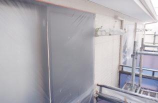 外壁中塗り 完了