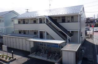【福島市】某アパート 屋根外壁他塗装工事