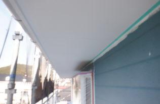 軒天塗装 状況