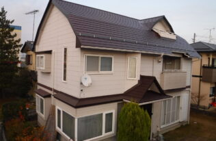【郡山市】K様邸 屋根重ね葺き