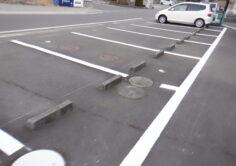 【福島市】アパート区画線ライン引き工事