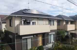 【郡山市】H様邸 屋根重ね葺き・外壁塗装