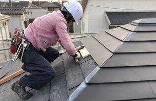 屋根 取付状況