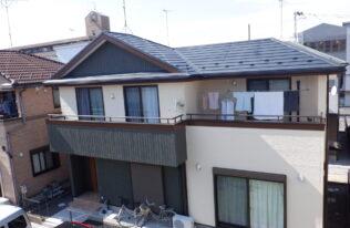 【郡山市】E様邸 屋根重ね葺き・外壁塗装