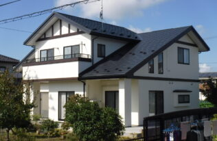 【須賀川市】Y様邸 屋根重ね葺き・外壁塗装
