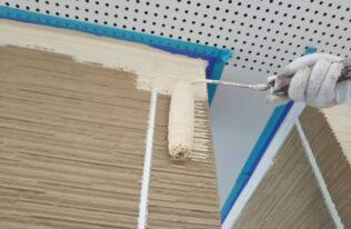 外壁 中塗り状況
