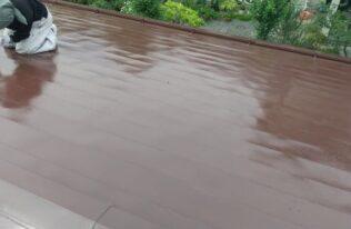 屋根塗装 状況