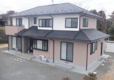 【いわき市】A様邸 屋根カバー外壁他塗装工事