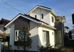 【郡山市】H様邸 屋根外壁塗装(一部外壁張替え)