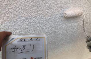 外壁 中塗り塗装