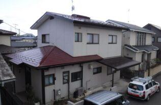 【福島市】S様邸 屋根他塗装工事