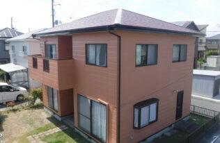 【いわき市】K様邸 屋根外壁塗装