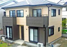 【いわき市】S様邸 外壁塗装・屋根金属カバー工事