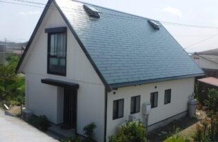 【いわき市】I様邸 屋根外壁塗装工事