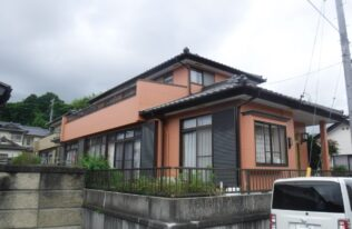 【いわき】Y様邸 外壁塗装工事
