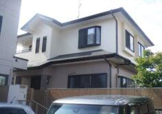 【いわき市】W様邸 屋根外壁塗装工事