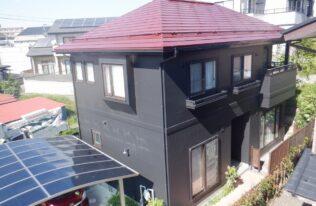 【郡山市】I様邸 屋根外壁塗装