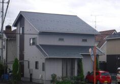 【福島市】M様邸 屋根吹き替え・外壁他塗装